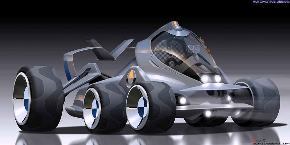 Car Design - Dune Racer