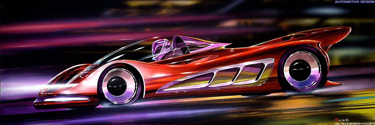 Car Design - Night Racing