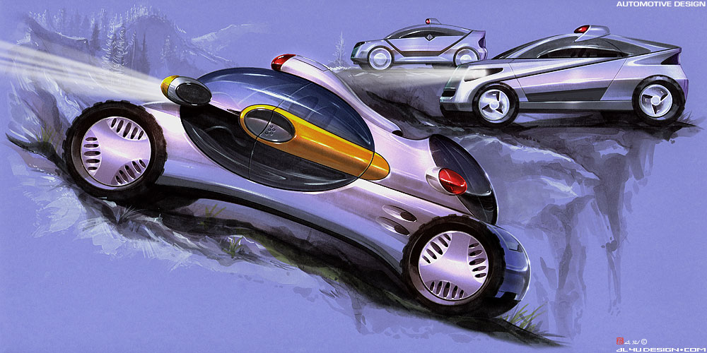 Car Design - SUV Concepts